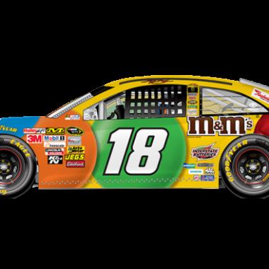 2013 Kyle Busch M&M's Sprint Unlimited Car (NASCAR CUP SERIES)