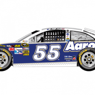 2013 Mark Martin Aaron's Sprint Unlimited Car (NASCAR CUP SERIES)