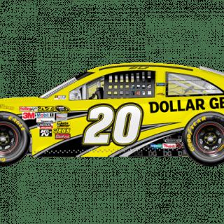 2013 Matt Kenseth Dollar General Sprint Unlimited Car (NASCAR CUP SERIES)