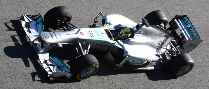 F1: Mercedes AMG Petronas Launch F1 W04 Car