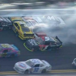 2013 Michael Annett Daytona Crash (NASCAR Nationwide Series)