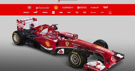 F1: 2013 Scuderia Ferrari F138 Formula One Car Released (VIDEO & PHOTOS)