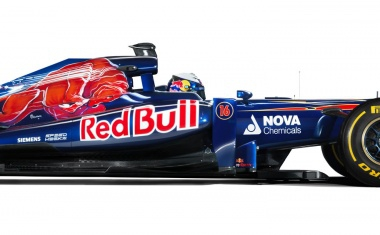 2013 Toro Rosso STR 8 Chassis (Formula One)