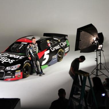 2013 kasey Kahne Great Clips Car (NASCAR Cup Series)