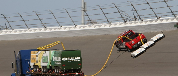 NASCAR: New Track Dryer Introduced