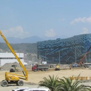Olympic Park - Sochi Russia Current Progress (Formula One)