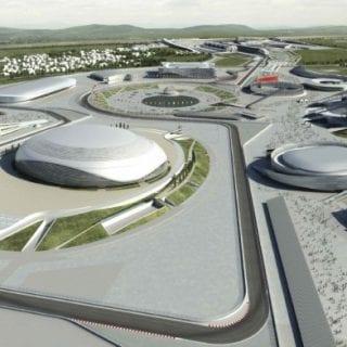 Olympic Park - Sochi Russia (Formula One)