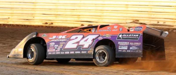 DIRT LATE MODEL: Eckert Hoping History Repeats Itself During This Weekend's Bubba Army Late Model Winter Nationals At Bubba Raceway Park