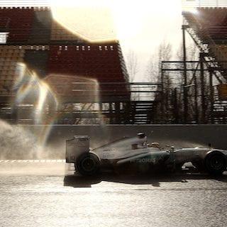 2013 Lewis Hamilton Fastest In Barcelona Testing (Formula One)