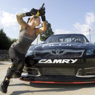 Christmas Abbott - NASCAR Crew Member