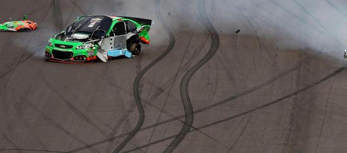 NASCAR CUP: Danica Patrick Injured At Las Vegas Dirt Track