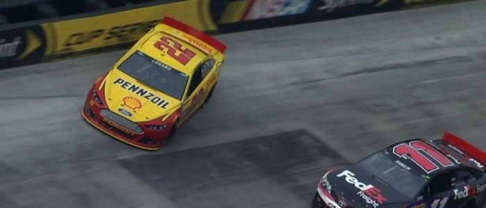 NASCAR CUP: Denny Hamlin vs Joey Logano On Twitter