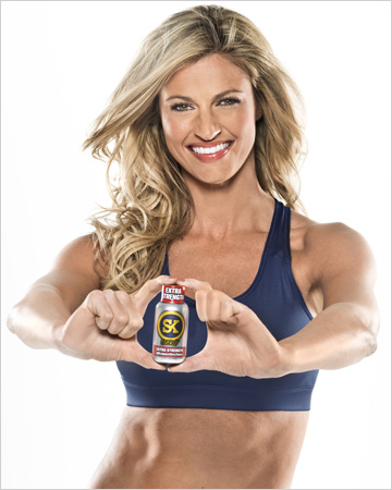 Erin Andrews SK Energy Shots 50 Cent (NASCAR)
