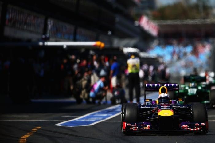 Infiniti Red Bull Racing - F1 (Austrian Grand Prix Starting Lineup)