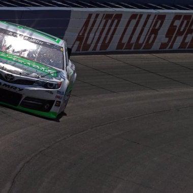 Kyle Busch Wins - Auto Club Speedway (NASCAR Cup Series)