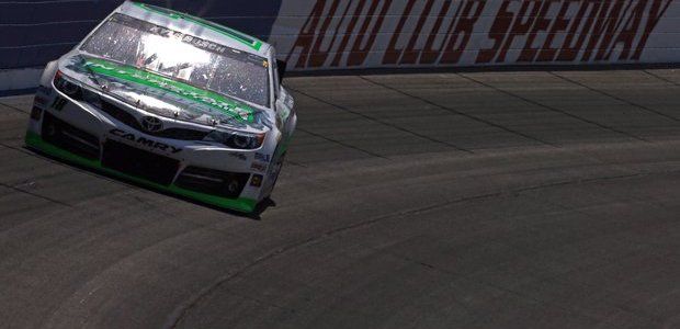 NASCAR CUP: Joey Logano & Denny Hamlin Crash, Hamlin Airlifted (VIDEO)
