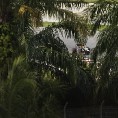 Kimi Raikkonen Contract - Lotus F1 Team (Malaysian Grand Prix)