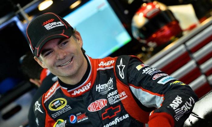 NASCAR Jeff Gordon Test Drive