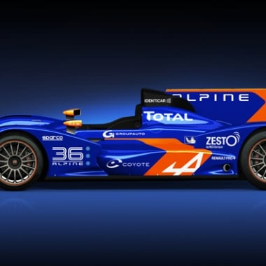 Signatech-Alpine Le Mans 24 Hours N36 Alpine