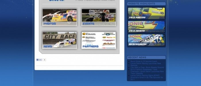 DIRT MODIFIED: Sonic Drive In Driver Lance Dehm New Website
