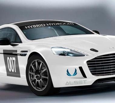 Aston Martin Rapide S - Hydrogen Powered Race Car