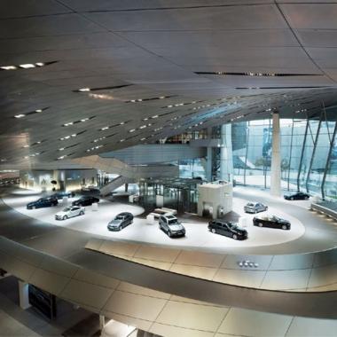 BMW Welt Building - BMW Motorsport M3 Cars (DTM)