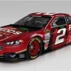 Brad Keselowski - Penske Racing - Redds Apple Ale NASCAR