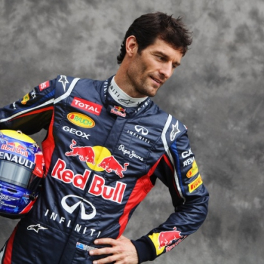 Mark Webber Portrait Photo - Red Bull Racing (Formula One)