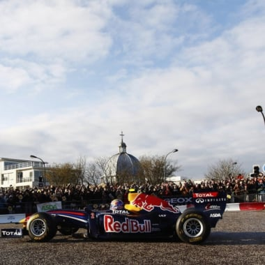 Mark Webber Street Promotion - Red Bull Racing (Formula One)