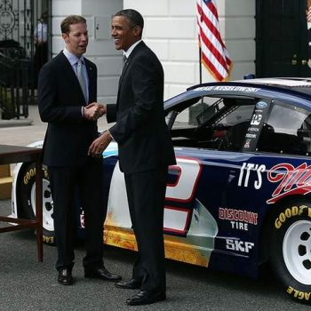 NASCAR Visits White House - Brad Keselowski