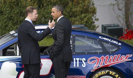 NASCAR CUP: NASCAR Visits White House