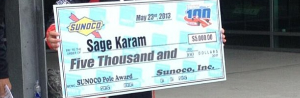 INDY LIGHTS: Sage Karam Claims Firestone Freedom 100 Pole