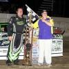 Jason Feger - Corn Belt Clash Dirt Late Model (Davenport Speedway) Mike Ruefer Photo