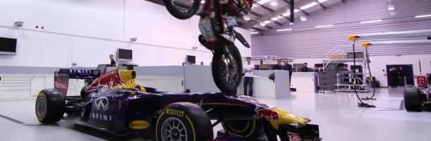 F1: Dougie Lampkin Tours Red Bull Racing (VIDEO)