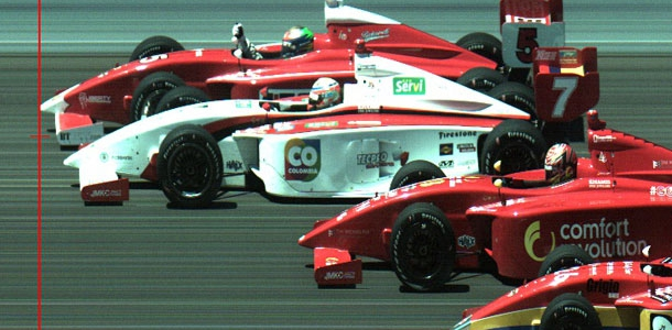 Indy Lights: Peter Dempsey Wins With 4 Wide Photo Finish