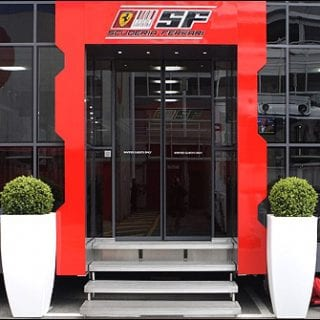 Scuderia Ferrari Motorhome (Formula One)