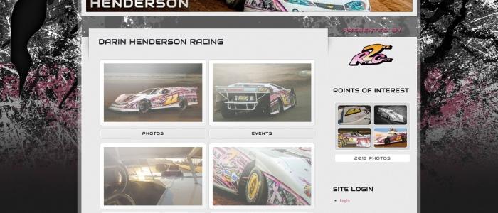 DIRT LATE MODEL: Darin Henderson Racing Launches New Dirt Late Model Team Website