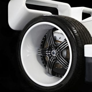 50 Cent Car Collection - White Lightning