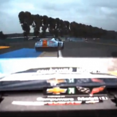 Allan Simonsen Crash - 24 Hours Of Le Mans ( ENDURANCE )