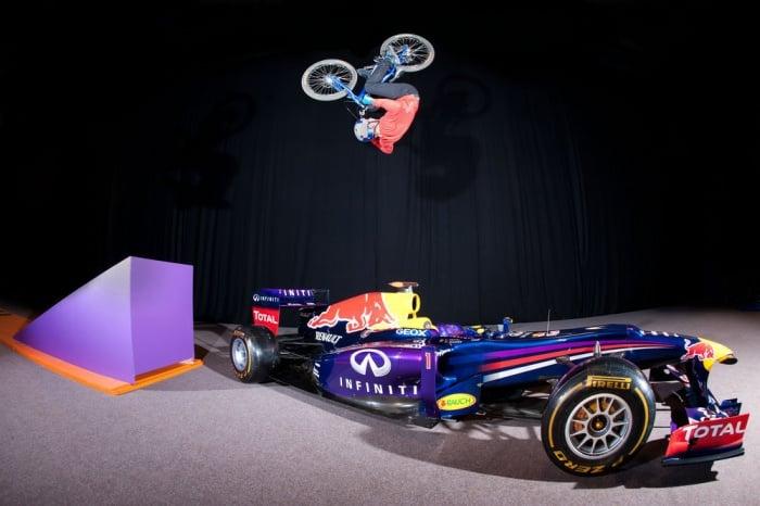 Danny MacAskill Imaginate Riding Film - Red Bull Racing (F1)