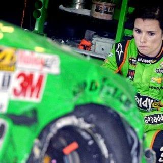 Danica Patrick And Ricky Stenhouse Jr. Crash ( NASCAR Cup Series )