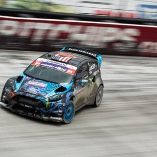 Ken Block Bristol Motor Speedway Global Rallycross Photos