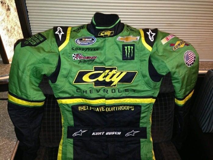 Kurt Busch Days Of Thunder Suit Photos ( NASCAR Nationwide Series ) B