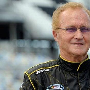Morgan Shepherd Oldest NASCAR Driver ( NASCAR Cup Series ) Portrait