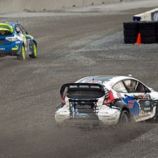 Toomas Heikkinen Bristol Motor Speedway Global Rallycross Photos