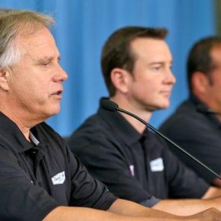 Gene Haas And Kurt Busch ( NASCAR Cup Series )