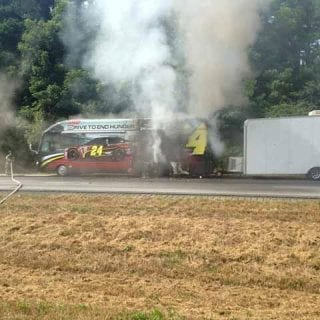 Jeff Gordon Fire On The Bus ( NASCAR CUP )