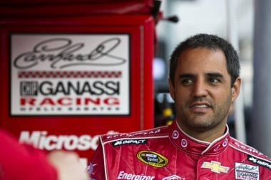 Juan Pablo Montoya Losing His Ride ( NASCAR Cup Series )