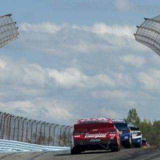 Juan Pablo Montoya Losing His Ride ( NASCAR Cup Series )