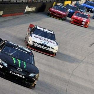 Kyle Busch Wins At Bristol Motor Speedway ( NASCAR Nationwide Series )